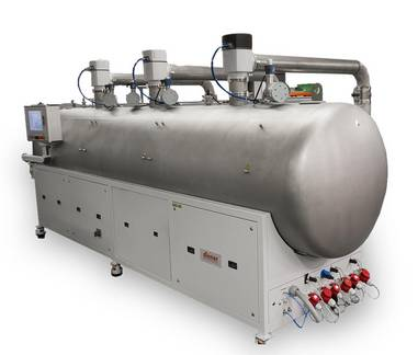 Production plasma system - Diener electronic Tetra 3600 - Plasmacleaner, Plasmaactivator, Plasmaasher, Plasmacoater