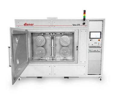 Production plasma system - Diener electronic Tetra 375 - Plasmacleaner, Plasmaactivator, Plasmaasher, Plasmacoater