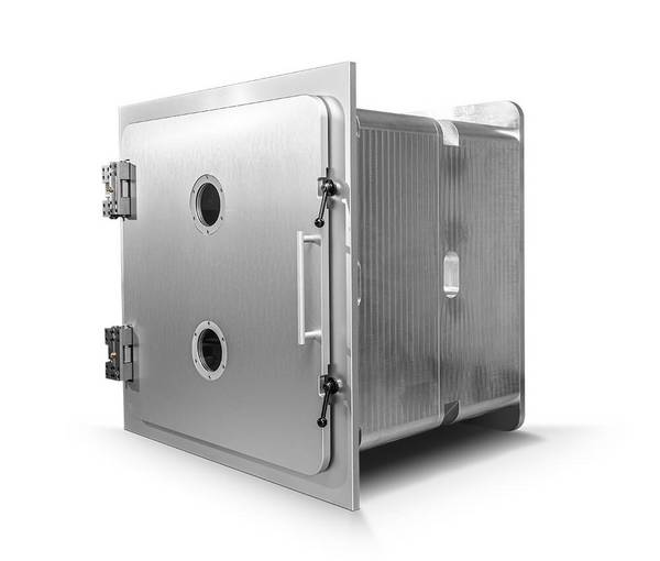 Aluminium Vakuumkammer, Länge modular in 500 mm Schritten, 1000 mm x 1000 mm