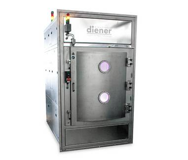 Production plasma system - Diener electronic Tetra 810 - Plasmacleaner, Plasmaactivator, Plasmaasher, Plasmacoater
