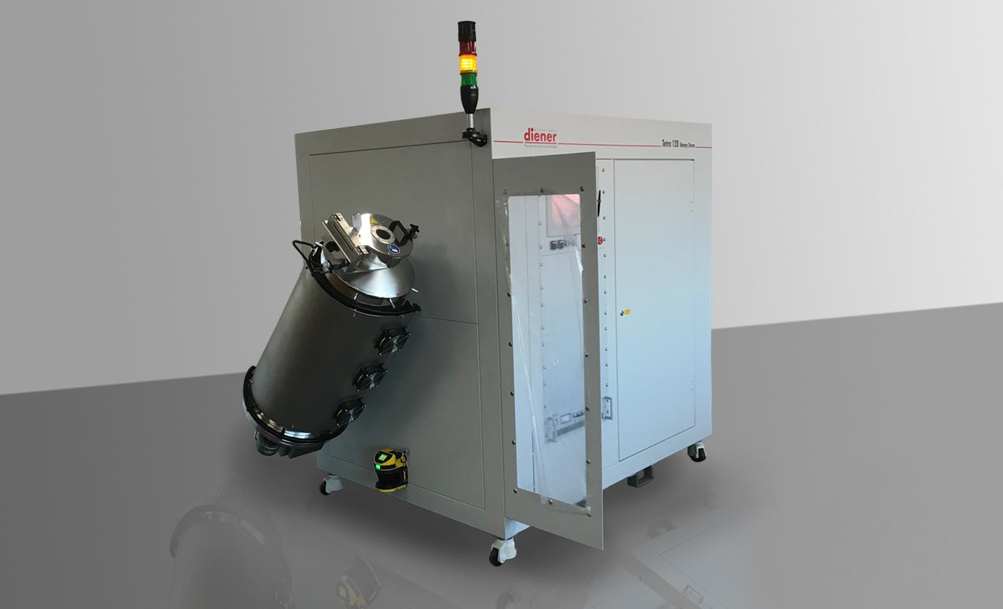 Tetra 150/rotary drum/ plasma powder system