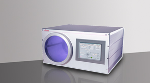 Atto plasma system with glass chamber/ glass chambers/ vacuum chambers/ glass/ chamber