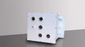 camera-da-vuoto-in-alluminio-modello-4-lato-posteriore, camera in alluminio, camera da vuoto in alluminio, sistema a camera flessibile