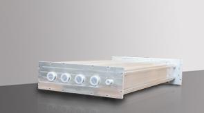 camera-da-vuoto-in-alluminio-modello-5-lato-posteriore, camera in alluminio, camera da vuoto in alluminio, sistema a camera flessibile