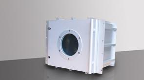 camera-da-vuoto-in-alluminio-modello-4-lato-anteriore, camera in alluminio, camera da vuoto in alluminio, sistema a camera flessibile