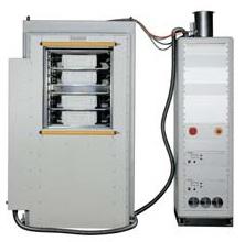 Puerta automática para sistema de plasma