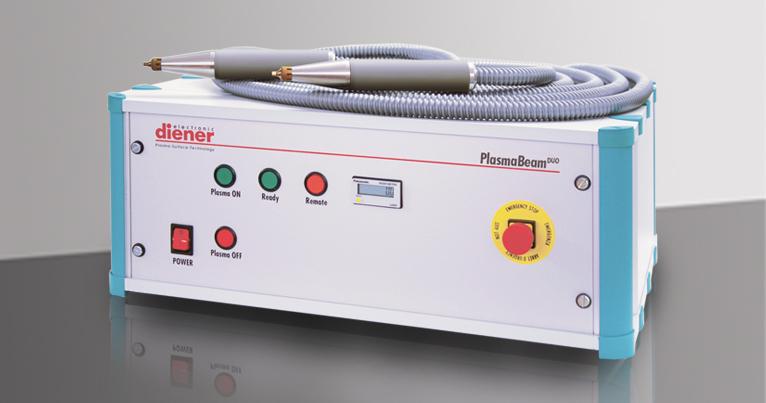 PlasmaBeam DUO, плазма атмосферного давления, плазменное сопло, луч плазмы, настольное устройство