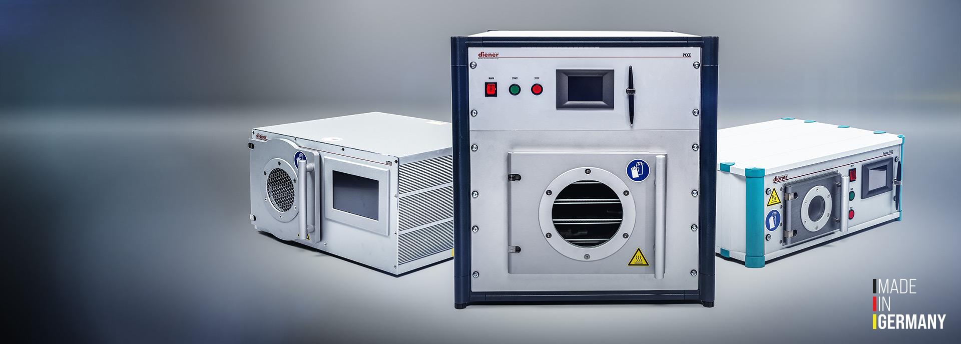 Niederdruck Plasmaanlagen zur reinigung, aktivierung, ätzung und beschichtung
