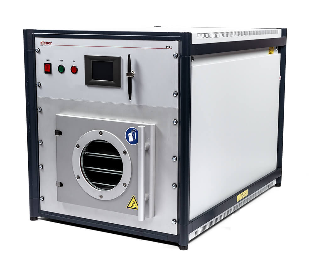 Plasmasystem, plasmacleaner for laboratory and production, Nano