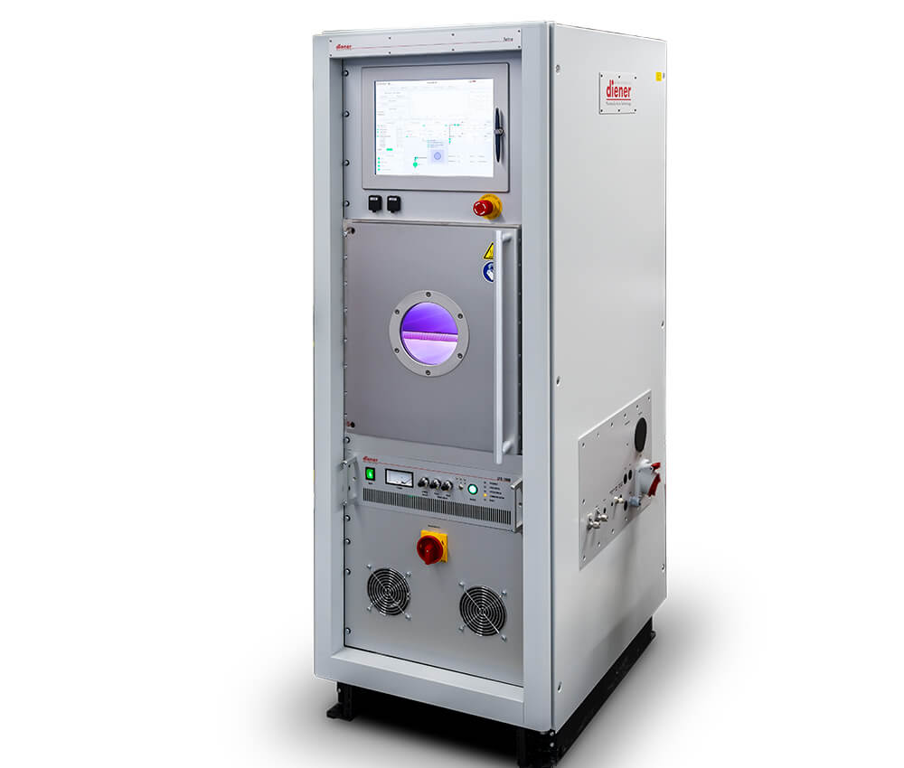 Plasmasystem, cleaning, activating, coating etching with plasma, Tetra 100