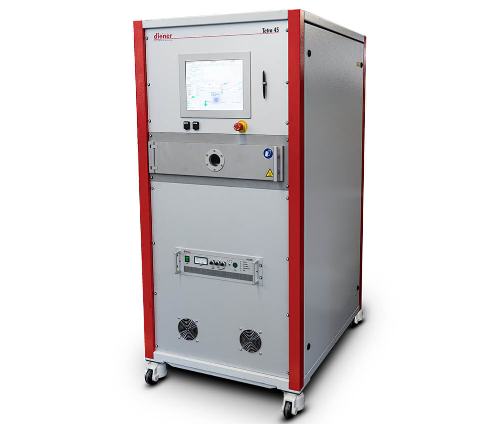 Plasmasystem, cleaning, activating, coating etching with plasma, Tetra 45