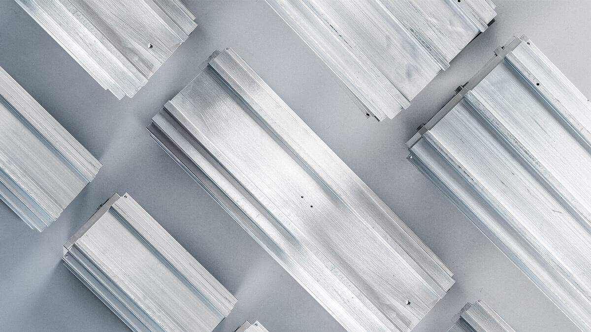 Aluminium-Profile für high-end Vakuumkammern