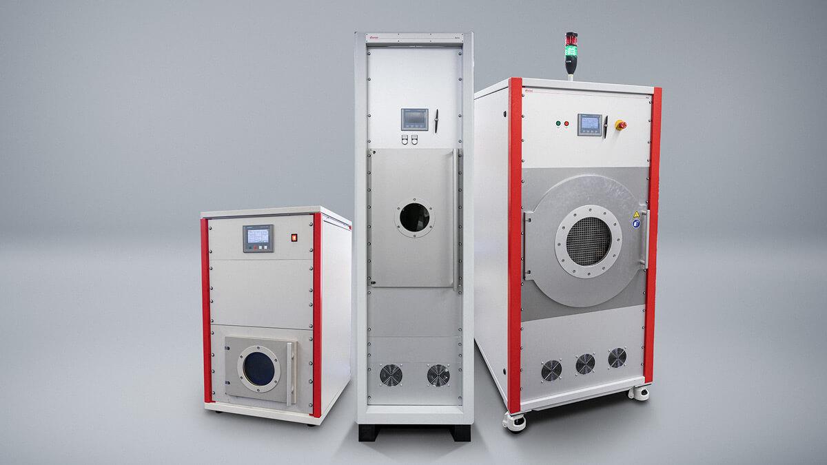 Komplette Vakuum Anlagen zur Höhensimulation, Lagerung, Entgasung, Vakuum-Verguss