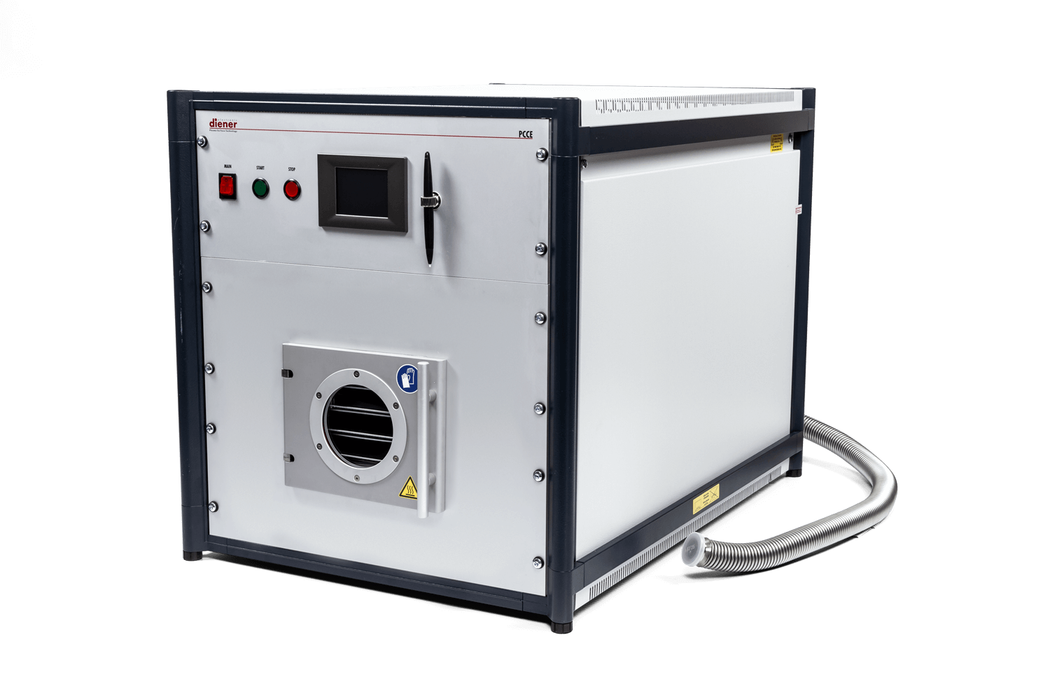 Plasma system for cleaning, aktivating, coating, etching